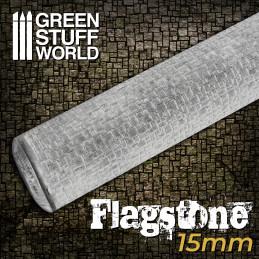 STRUKTURWALZE - Steinfliesenboden 15mm