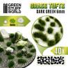 Touffes d'herbe - 6mm - Auto-Adhésif - VERT FONCÉE