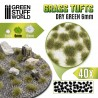 Touffes d'herbe - 6mm - Auto-Adhésif - VERT SEC