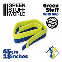 Masilla verde en Rollo 45 cm CON HUECO