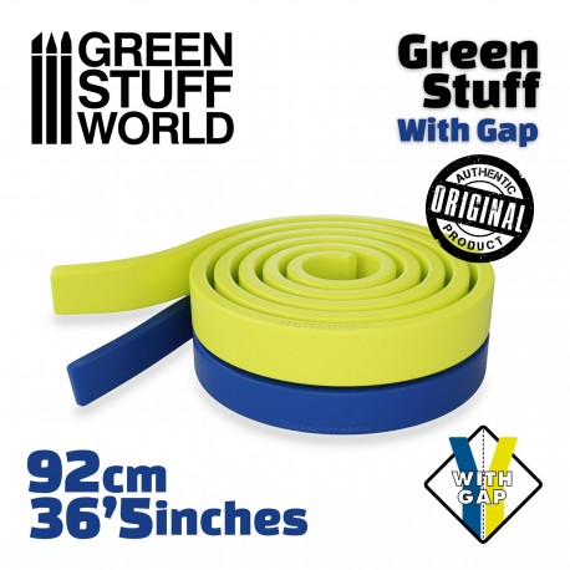 Masilla verde en Rollo 92 cm CON HUECO