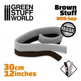 Brown Stuff Modelliermasse Rolle 30 cm - 12 zoll MIT TRENNUNG