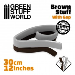 Brown Stuff Tape 12 inches WITH GAP