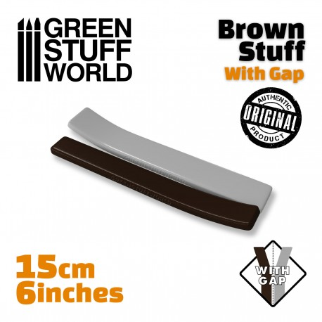 Brown Stuff Tape 6 inches WITH GAP