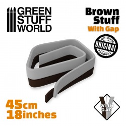 Brown Stuff Tape 18 inches WITH GAP