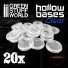 Hollow Plastic Bases - TRANSPARENT
