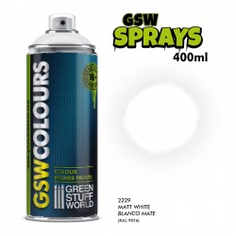 SPRAY Primer Colour Matt White 400ml