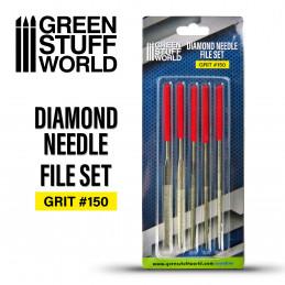 Diamond Needle Files Set - Grit 150