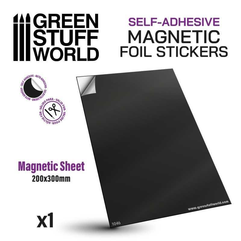 Magnetic Sheet - Self Adhesive