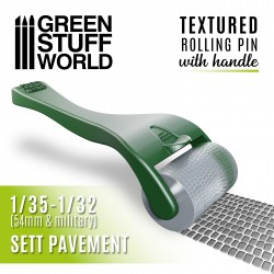 Rolling pin with Handle - Sett Pavement