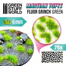 Martian Fluor Tufts - FLUOR GRINCH GREEN