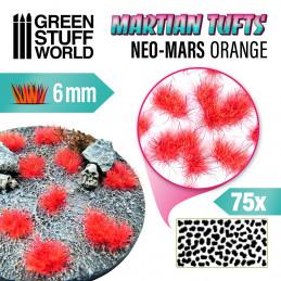 Martian Fluor Tufts - NEO-MARS ORANGE