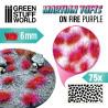 Martian Fluor Tufts - ON FIRE PURPLE