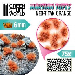 Martian Fluor Tufts - NEO-TITAN ORANGE