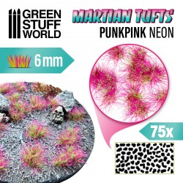 Touffes d'herbe martienne - PUNKPINK NEON