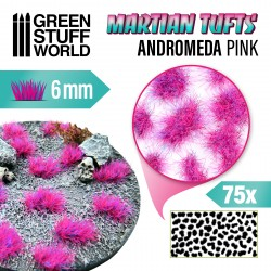 Touffes d'herbe martienne - ANDROMEDA PINK