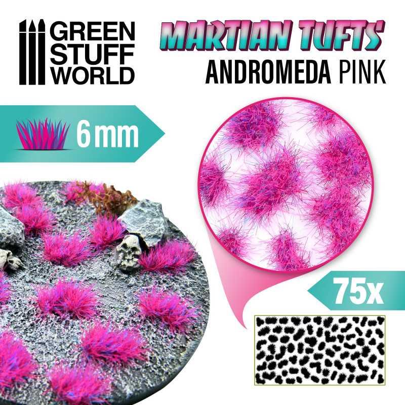 Martian Fluor Tufts - ANDROMEDA PINK