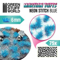 Touffes d'herbe martienne - NEON STITCH BLUE