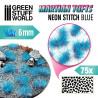Marsgrasbüschel - NEON STITCH BLUE