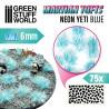 Touffes d'herbe martienne - NEON YETI BLUE