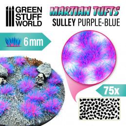 Martian Fluor Tufts - SULLY PURPLE-BLUE