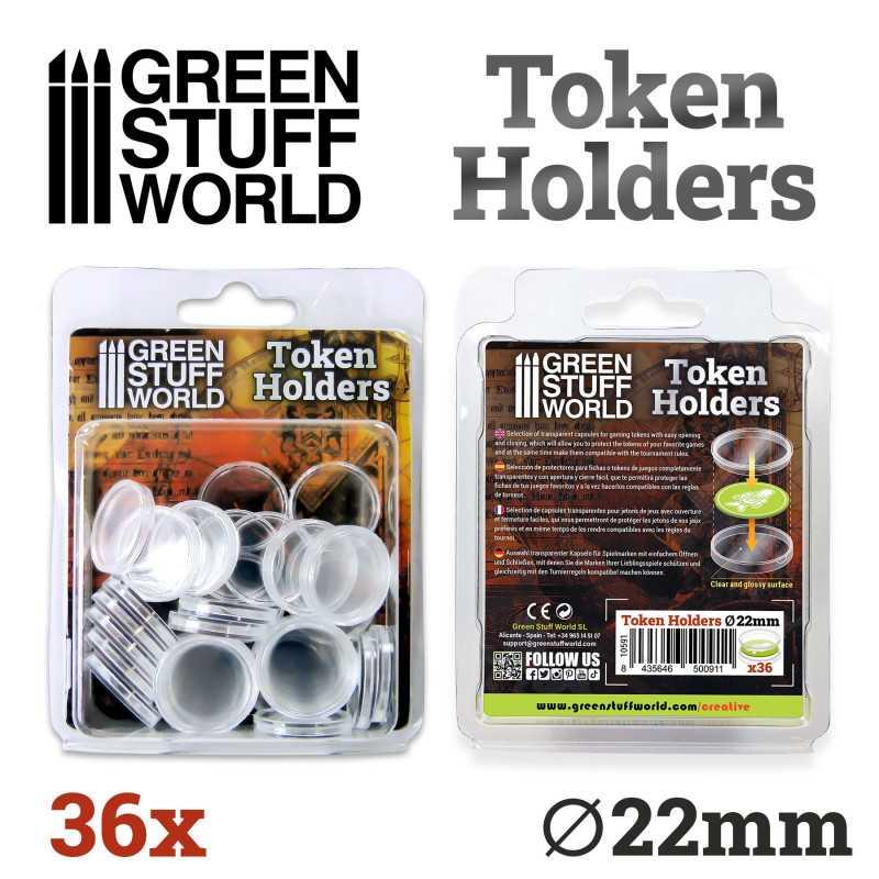 Token Holders 22mm