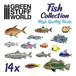Resin Fish Collection