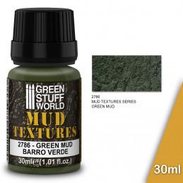 Textures de boue - GREEN MUD 30ml