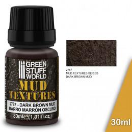 Textures de boue - DARK BROWN MUD 30ml