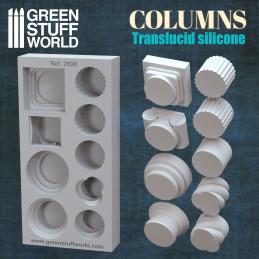 Silikon Texturplatten - Säulen