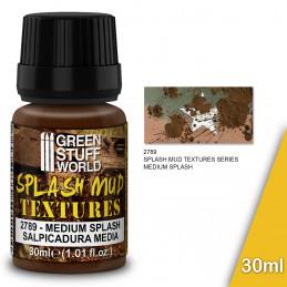 Textura de barro salpicado - MEDIUM BROWN 30ml