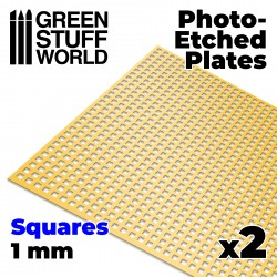 Photo-etched Plates - Large Squares