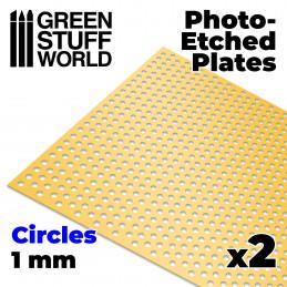 Plaques de Photogravées - Grands Cercles