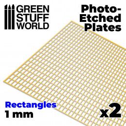 Plaques de Photogravées - Grands Rectangles