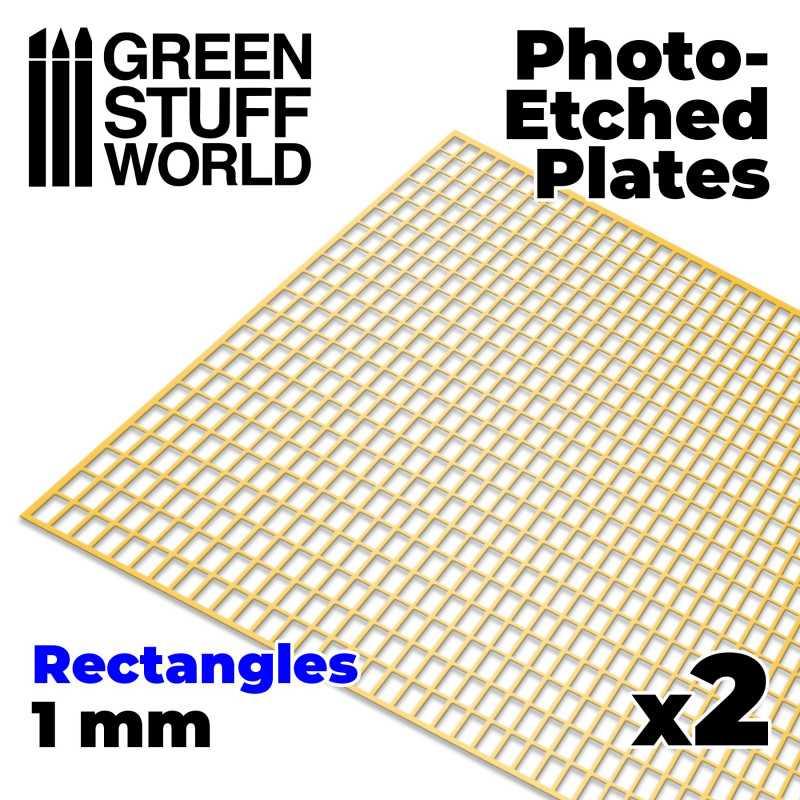 Placas Fotograbados - Rectangulos Grandes