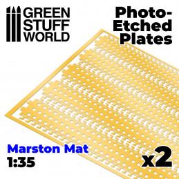 Plaques de Photogravées - MARSTON MATS 1/35
