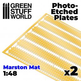 Plaques de Photogravées - MARSTON MATS 1/48