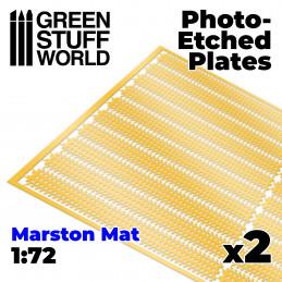 Plaques de Photogravées - MARSTON MATS 1/72