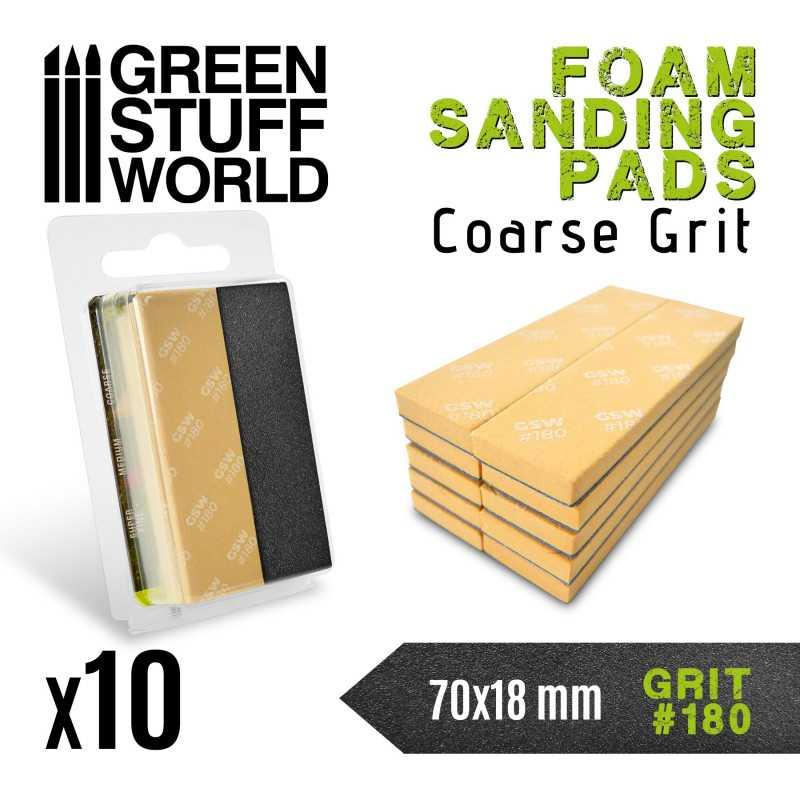 Foam Sanding Pads 180 grit