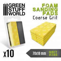 Foam Sanding Pads 280 grit