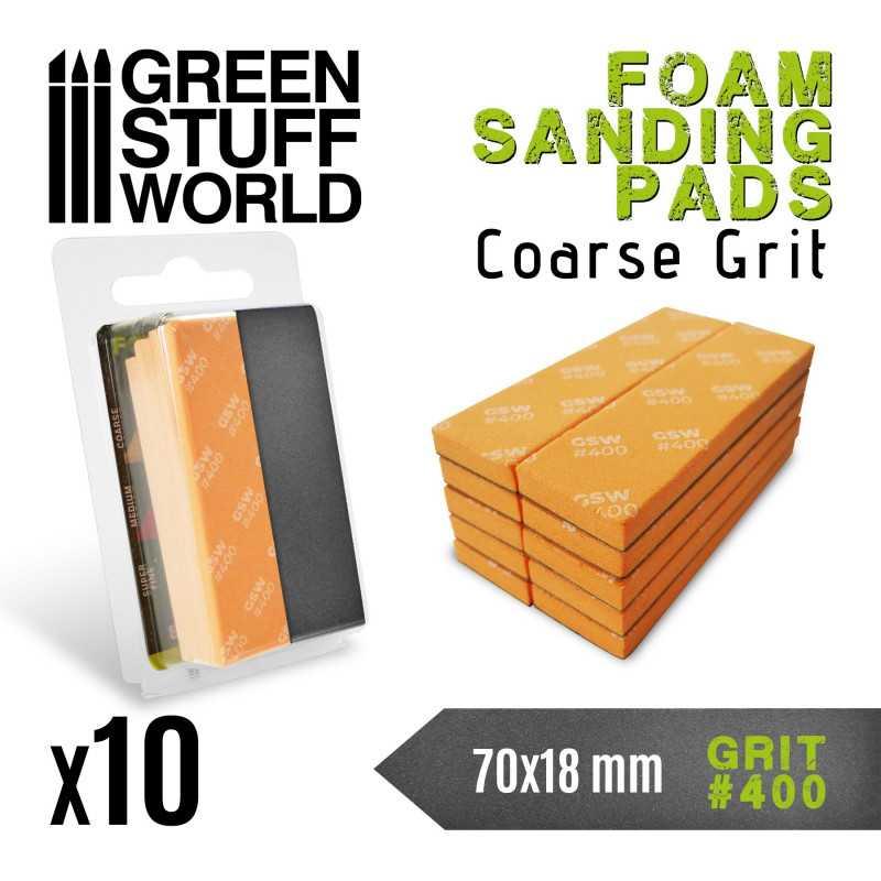 Foam Sanding Pads 400 grit
