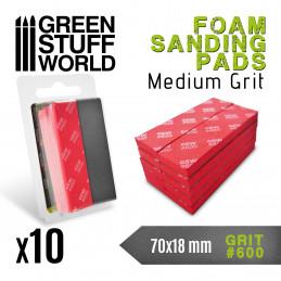 Eponge de Ponçage Flexible - Grain 600