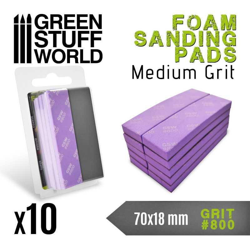 Foam Sanding Pads 800 grit