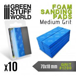 Eponge de Ponçage Flexible - Grain 1200