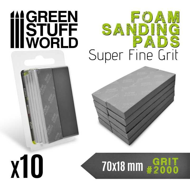 Foam Sanding Pads 2000 grit