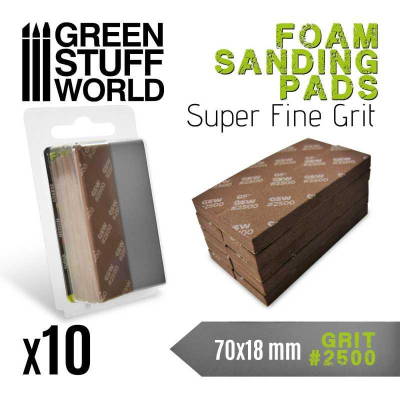Foam Sanding Pads 2500 grit