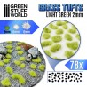 Grasbüschel - Selbstklebend - 2mm - Hellgrün