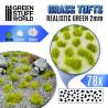 Touffes d'herbe - 2mm - Auto-Adhésif - VERT RÉALISTE