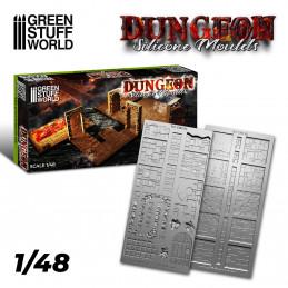 Silikon Texturplatten - Dungeon