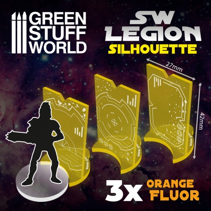 Silueta SW Legion - Naranja Fluor